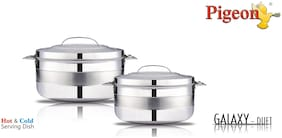 Pigeon Galaxy Duet (1000;2500) ML Casseroles;Set of 2