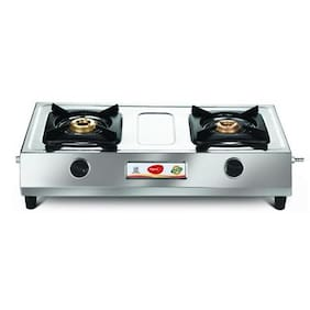 Pigeon Galaxy 2 Burner Regular Silver Gas Stove