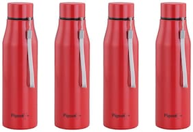 Pigeon - Glamour Water Bottle 1000ml Set Of 4 Red
