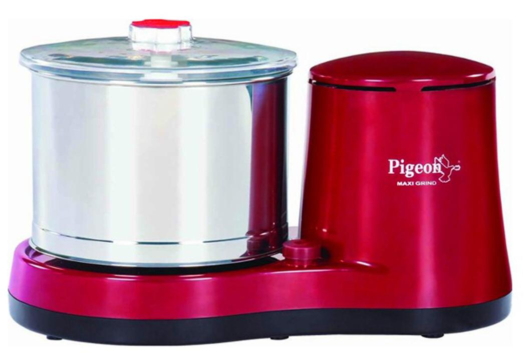 Pigeon Maxi 500 W Wet grinder (Red/1 Jar)