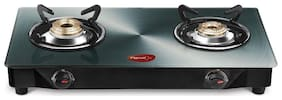 Pigeon Metalic 2 Burner Regular Silver Gas Stove