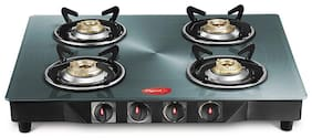 Pigeon Metalic 4 Burner Regular Silver Gas Stove