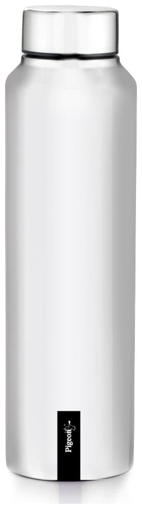 Pigeon Stainless Steel Silver Water Bottle ( 1000 ml , Set of 1 )