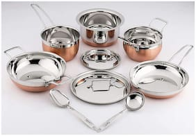 Pigeon Neo Cookware Set;9-Pieces;Silver