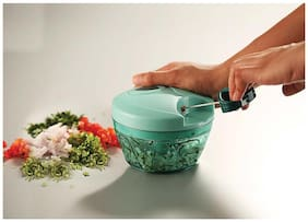 Pigeon New Handy Chopper with 3 Blades, Green