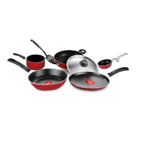 Pigeon Non Stick Cookware Set of 7 Cookware Set (Aluminium)