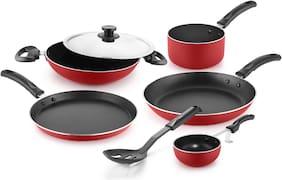 Pigeon Non Stick Cookware Set of 7 Cookware Set (Aluminium)