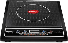 Pigeon RAPIDO CUTE 1800 W Induction Cooktop ( Black , Push Button Control)