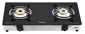 Pigeon smart 2 Burner Regular Black Gas Stove