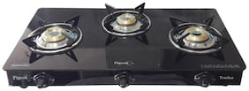 Pigeon 3 Burners Gas Stove - Black