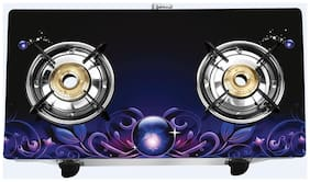 Pigeon ZEUS SMART PLUS 2 Burners Stainless Steel Gas Stove - Assorted