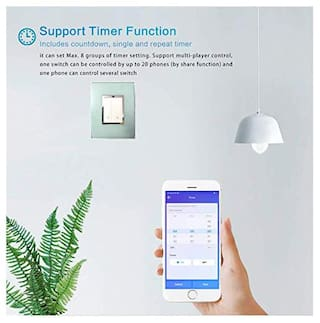 PINC Technology WiFi Touch Switch Anchor ROMA Modular Home Automation Google Home and Alexa Support