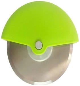 Pizza Cutter Wheel Pizza Cutter  (Steel) (1Pc) Multicolor