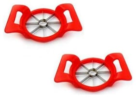 Plastic Apple cutter Pack of 2
