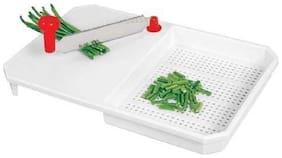 Plastic Cut-N-Wash Delux Chopping Board