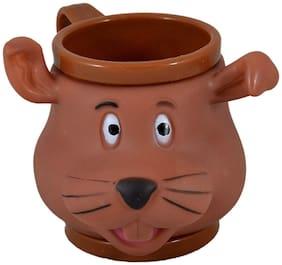 Plastic Cute Mug / Cup For Kids  3D Designer Mug By INSTABUYZ