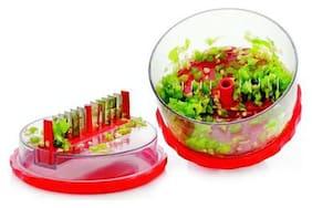 Plastic Delight Multi Vegetable Crusher,Chopper,Slicer,Cutter.Ideal for Onion,Dry Fruit,Fruit,Capsicum,Peanuts..Etc