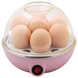 Plastic Egg Boiler/Poacher/ Cooker/Electric Steamer (Multicolour, C_Egg_cooker)