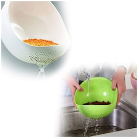 Plastic Kitchen Tool Rice Bowl Strainer