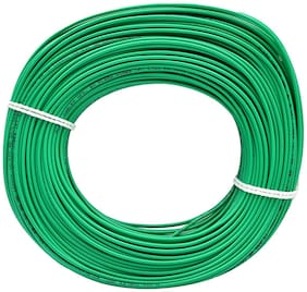 Plaza Cables 0.75 sq mm Copper PVC Insulated Electrical Wire/Cable 1100V -90 m (Best for Home use)