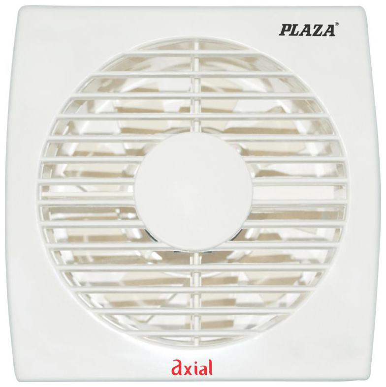 Plaza Axial 100 mm 100 mm Economy Exhaust Fan   White , Pack of 1