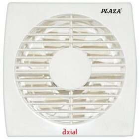 Plaza Axial 100 mm Fresh Air Fan - Ivory