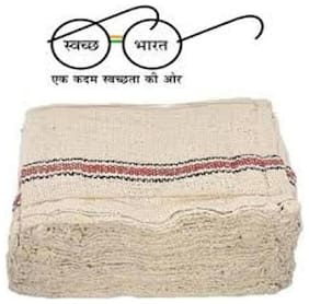 Pocha Dry duster Kitchen Napkins /Cleaning Cloth Dry Cotton Cleaning Cloth (Pack of 6)