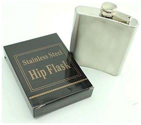 Pocket Hip Flask Flagon 226.79 g  (8 OZ) Stainless Steel Liquor Drinkware Bottle Barware