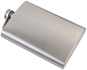 Pocket size stainless steel liquor Hip flask 226.79 g (8 oz)