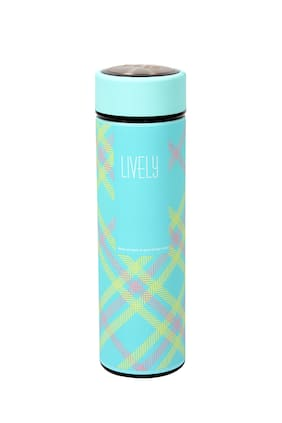 Polo Lifetime 480 ml Stainless steel Blue Water bottles - 1 pc