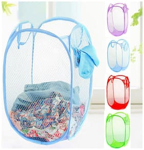 TAHIRA FASHION Polyester Multi Laundry Basket ( Set of 1 )