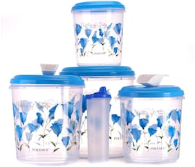 Polyset Galaxy Container Staple Storage;Oil Canister & 2 Large Scoop Set
