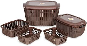 Polyset Organising Basket Set 5 pcs