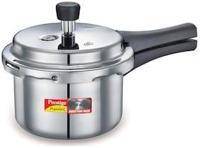 Prestige Popular Plus Hard Anodized Aluminium Pressure Cooker, 1.5 Litres, White (10213)
