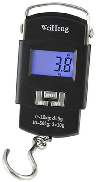 Portable Electronic Weighing Scale Handheld Hanging Upto 50kg