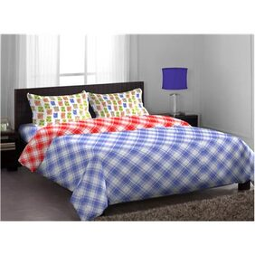 Stellar Home Blockbuster Double Bedsheet with 2 Pillow Covers