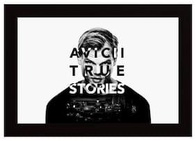 Posterskart DJ Avicii True Stories Music Framed Poster