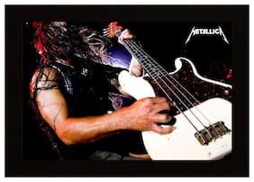 Posterskart Metallica Music Band Concert Framed Poster