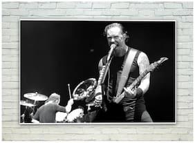 Posterskart James Hetfield Metallica Poster (30.48 cm (12 inch) x 45.72 cm (18 inch))