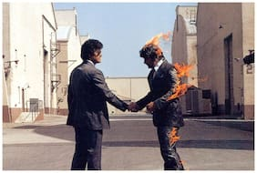 Posterskart Pink Floyd 'Wish You Were Here' Album Art Poster
