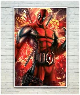 Posterskart Deadpool Poster (30.48 cm (12 inch) x 45.72 cm (18 inch))