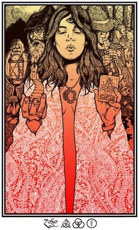 Posterskart Led Zeppelin Poster