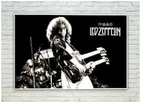 Posterskart Led Zeppelin Jimi Page Guitar Poster (30.48 cm (12 inch) x 45.72 cm (18 inch))