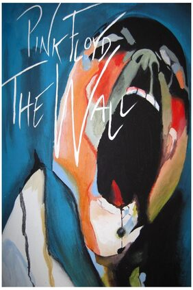 Posterskart Pink Floyd 'The Wall' Poster