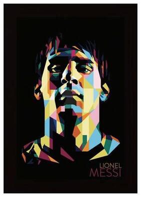 Posterskart Lionel Messi Framed Poster