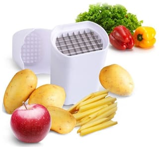 Potato Cutter Maker Press for - French Fries - Finger Chips Maker - Home