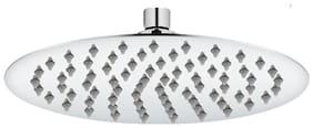 Prayag hydro 12x12 ultra-slim round shape Brass Rain shower with 12 inch Arm