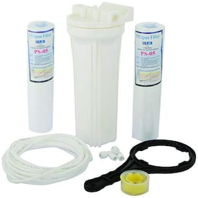 Ampereus Pre Filter Set With Extra Spun Filter  Spanner and Teflon Kit for RO /UV/UF Water Purifiers