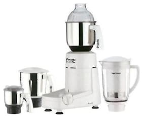 Preethi ECO PLUS MG 157 750 W Mixer Grinder ( White , 4 Jars )
