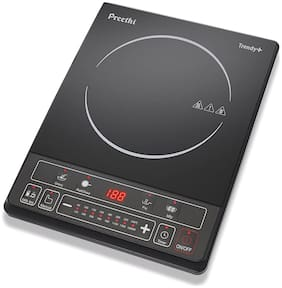 Preethi IC 1171600W 1600 W Induction Cooktop ( Black , Touch Panel Control)